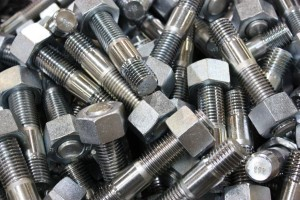 Zinc Plated Studs with Nuts