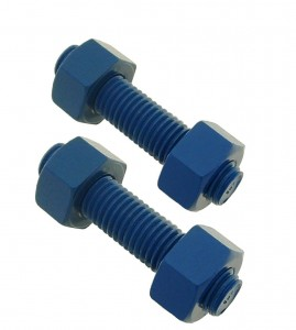 Blue Coated Stud Bolts